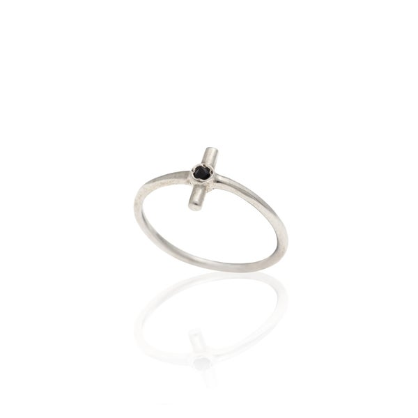 Image of Plus Silver Ring