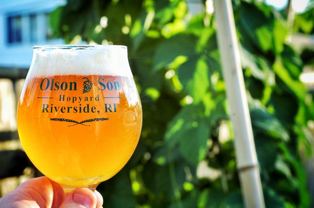 Image of Olson & Son Branded Beer Tulip