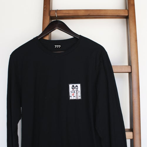 "Image of LUCID777 ""TokyoWomen"" long sleeve tee"