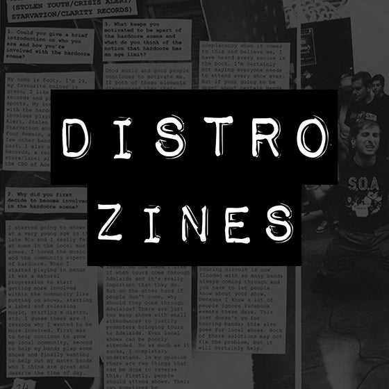 Image of DISTRO ZINES