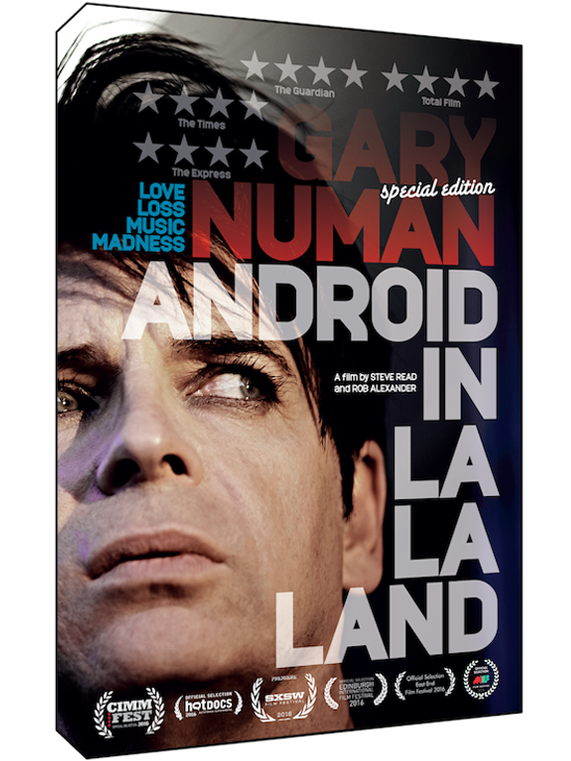 Image of GARY NUMAN: ANDROID IN LA LA LAND - DVD (Region Two) UK/IRE ONLY