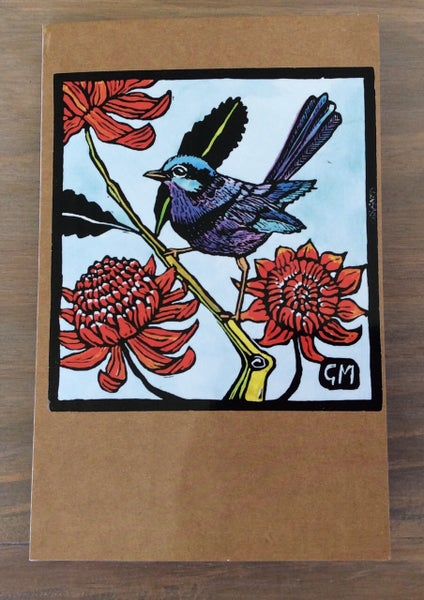 Image of Splendid Fairy Wren Card