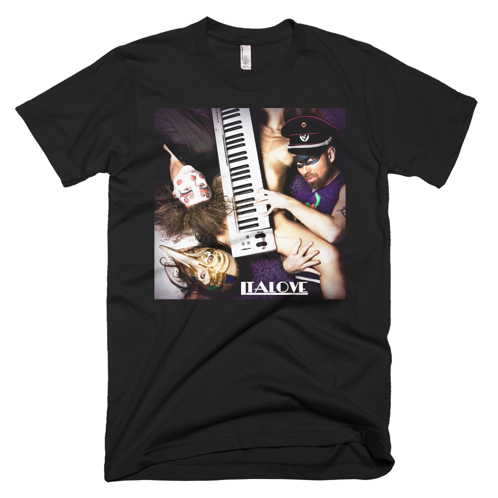 Image of Italove T-shirt Black