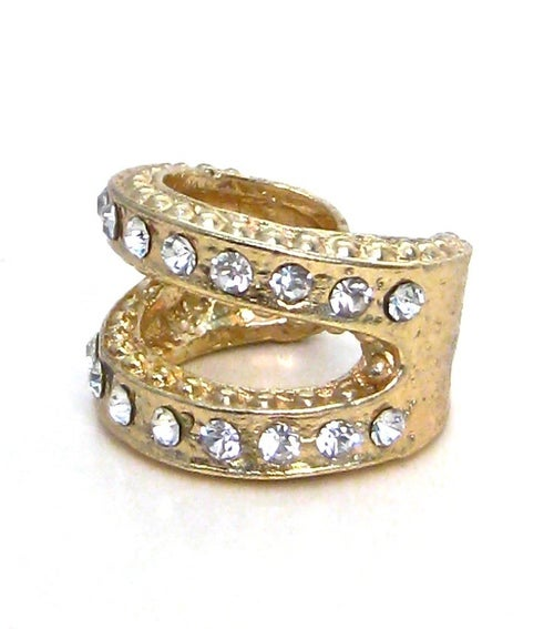 Image of Rhinestone Tiered Ring (More Colors)