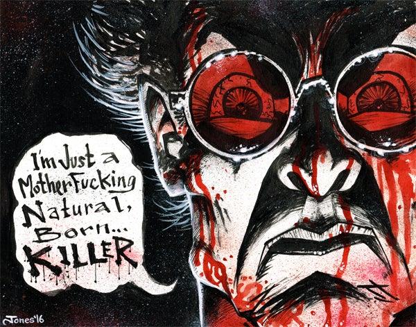 Image of 'Natural Born Killers' Original Painting