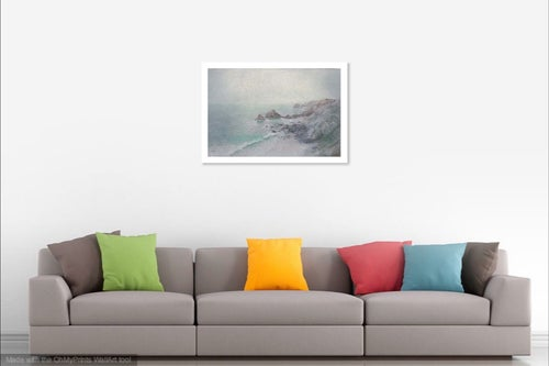 Image of Sundown at North Cliffs (Original SOLD) print