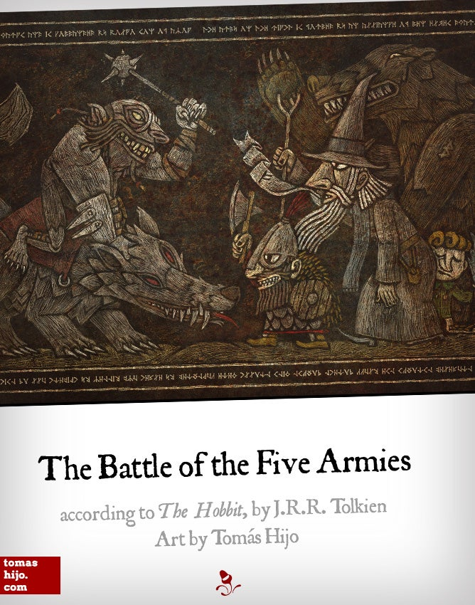 Image of The Battle of the Five Armies