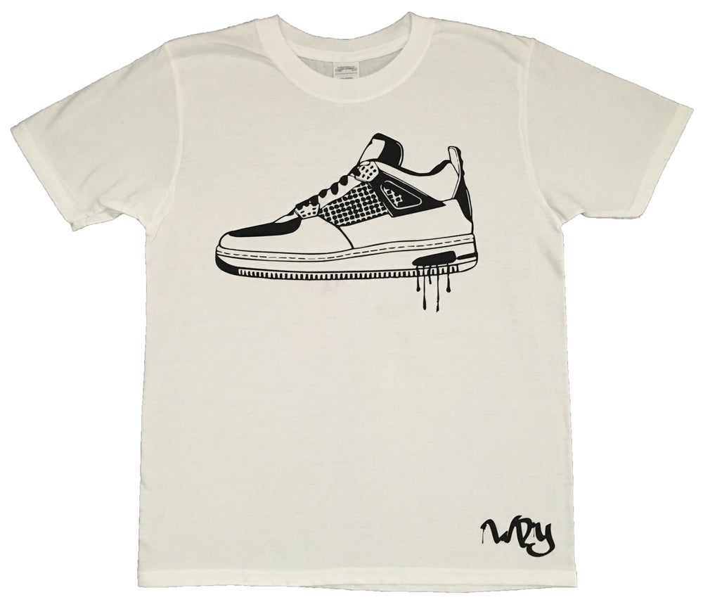 Image of Hi Top 1 White T Shirt