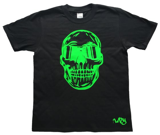 Image of Skull Sunglasses T Shirt