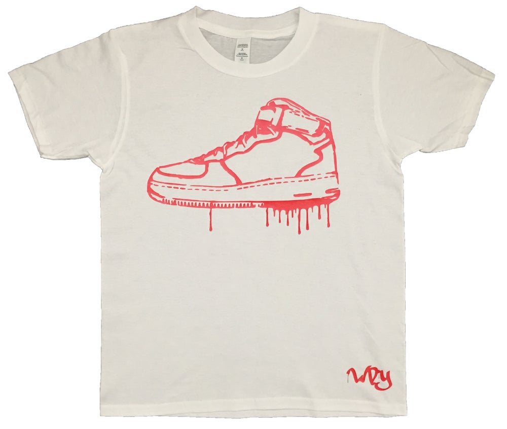 Image of Drip Hi Top T Shirt
