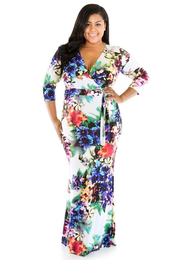 Image of Floral Maxi Dress