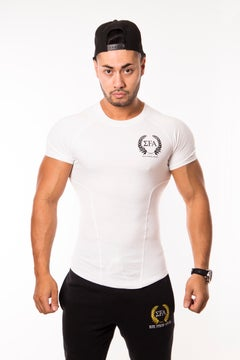 Elite Tee White - Elite Fitness Apparel