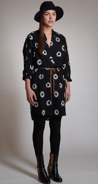 Image of The Odells Split Placket Dress