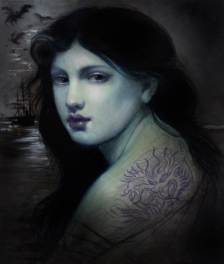 Blue Girl Aimee Cornwell Atelier