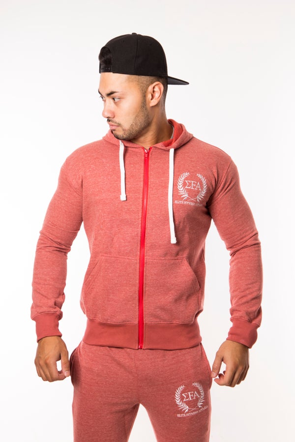 Titan Hoody - Coral - Elite Fitness Apparel