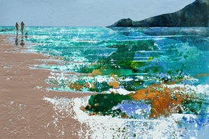 Image of Autumn in the air, Crantock Beach