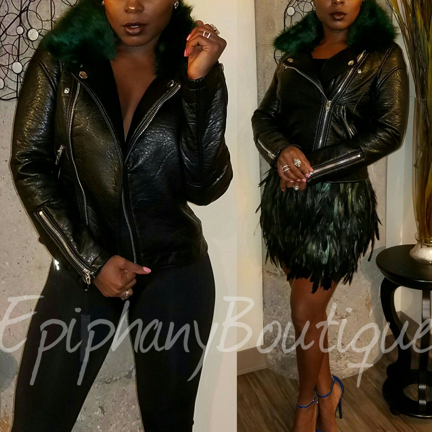 Image of The Janet Leather Jacket**ON SALE**
