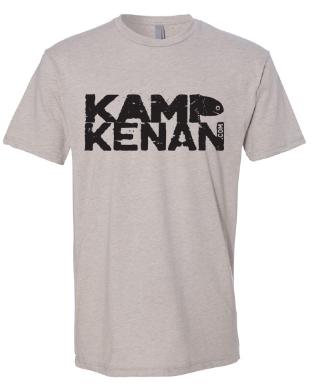 Image of Kamp Kenan - Sand Logo Shirt