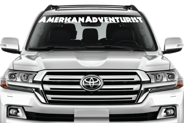Image of AA Windshield Banner