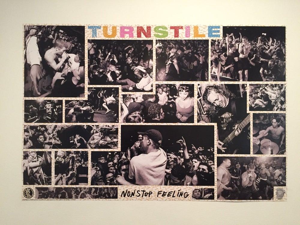 """Image of TURNSTILE """"Nonstop Feeling"""" Poster - FOLDED"""
