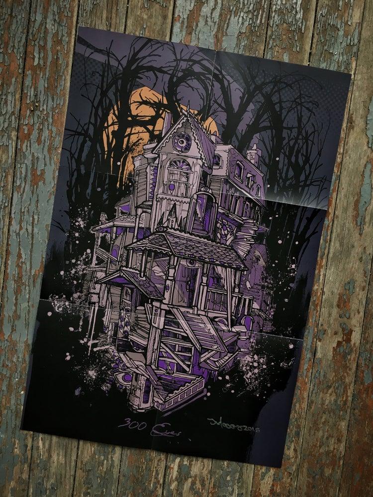 Image of GOYA 300 EYES fold out poster