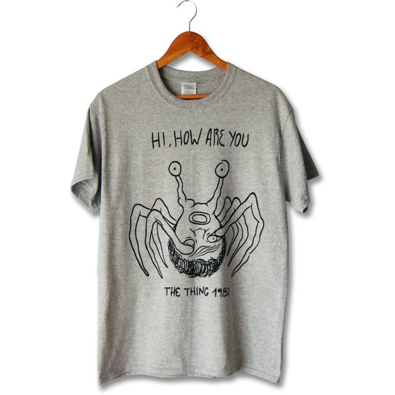 Image of HOW R U TEE - HEATHER GREY