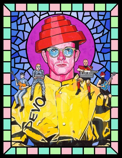 Image of Saint Mark Mothersbaugh (Devo)