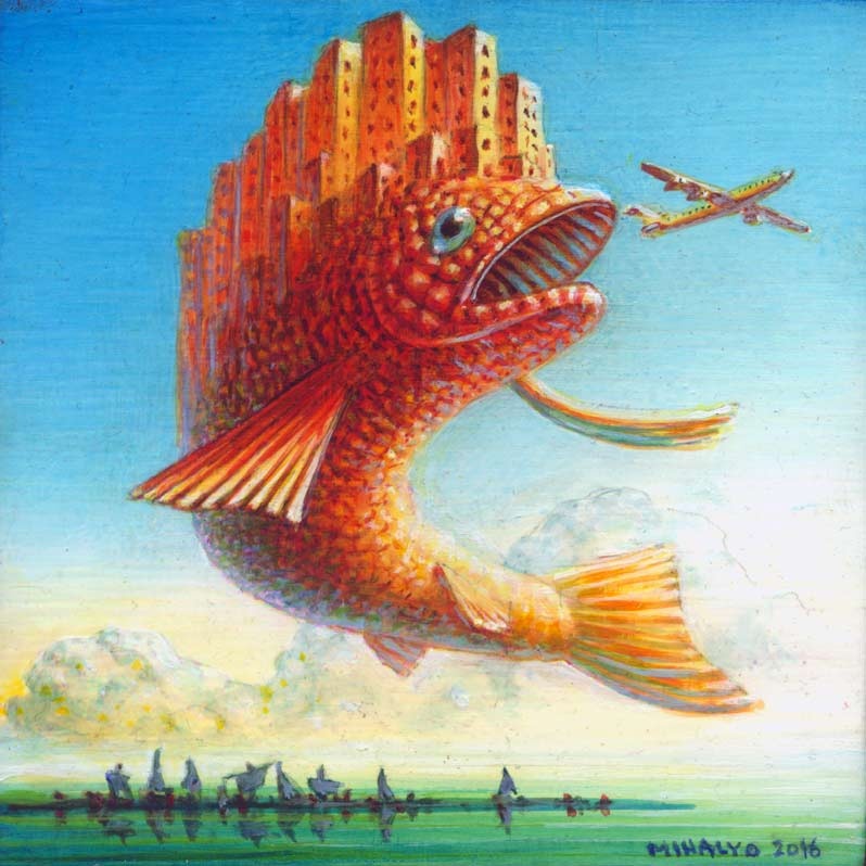 Image of City Fish Airplane