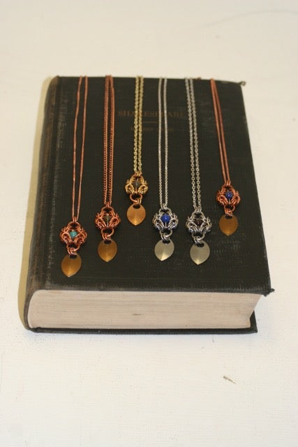 Image of Chained Armour~ Byzantine Necklace