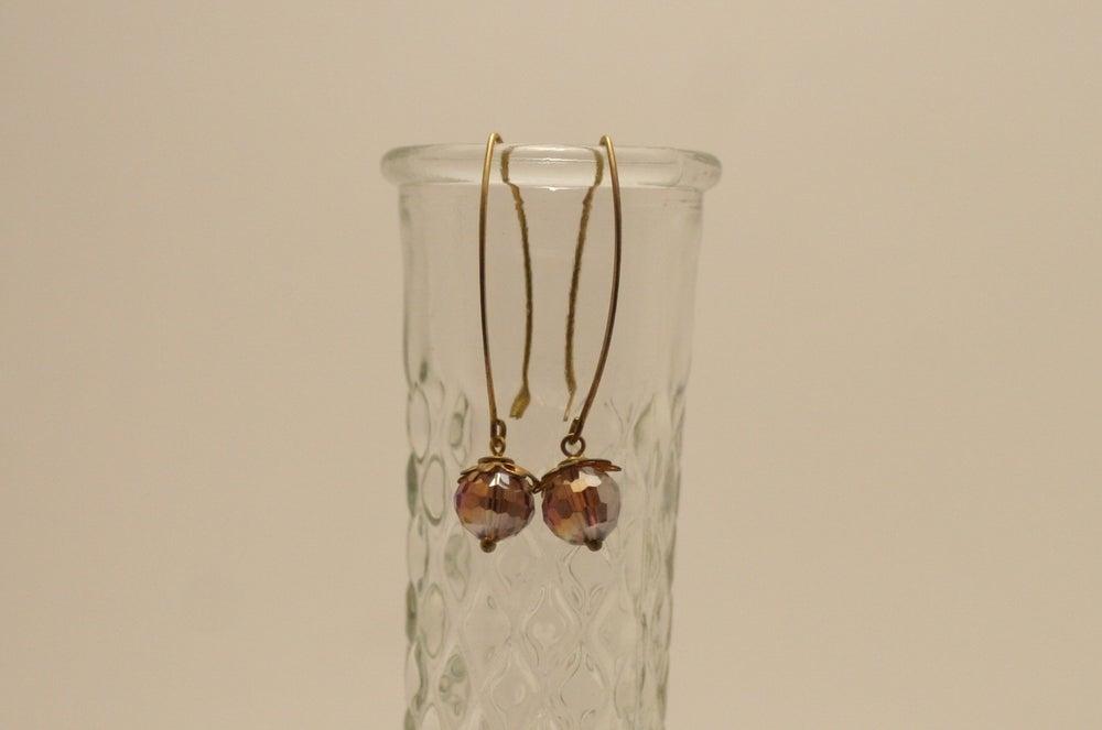 Image of Crystal Ball Earrings