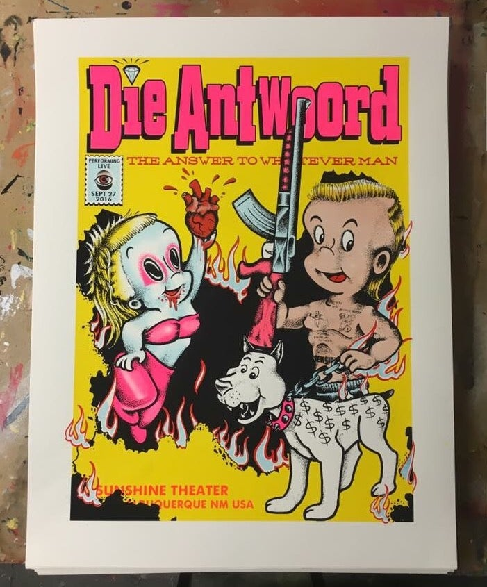 Image of Die Antwoord - 9/27/2016 - Sunshine Theater - Albuquerque, NM