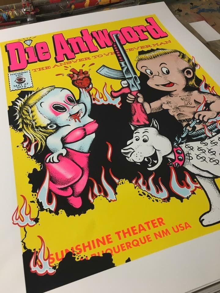 Image of Die Antwoord - 9/27/2016 - Sunshine Theater - Albuquerque, NM