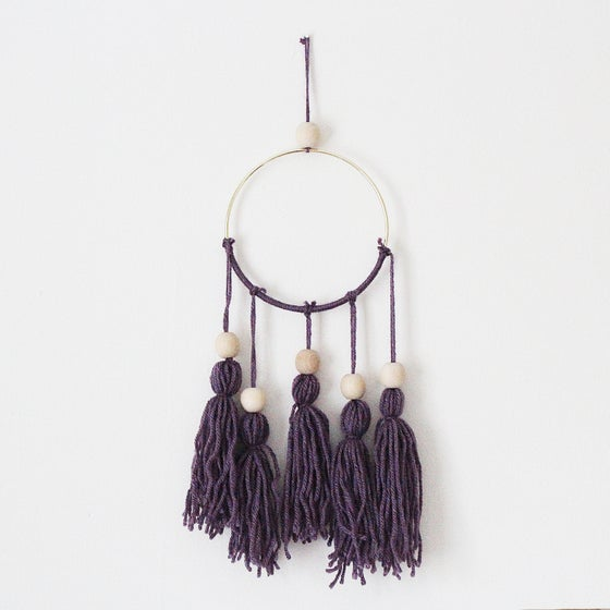 Image of Purple Dreamcatcher