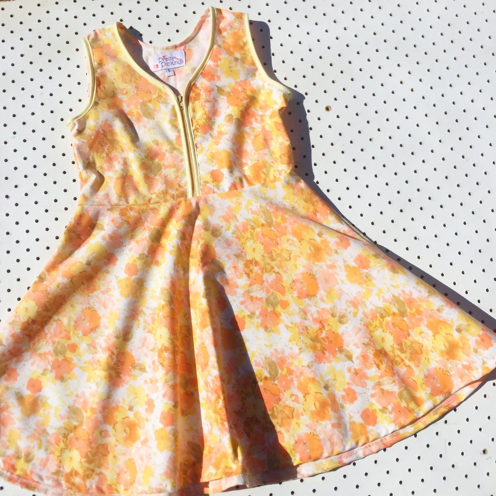 Image of Size 5 'vintage twirl' dress - citrus floral