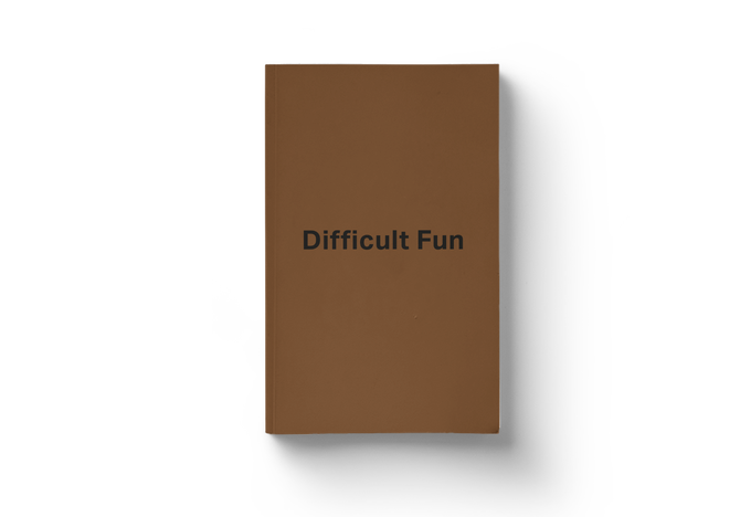 Image of Book «Difficult Fun»