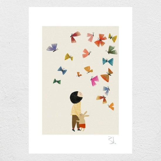 Image of Dear bunny Print