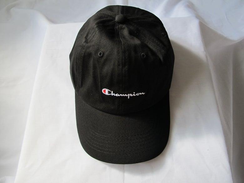Image of Champion - Dad Hat (Black)