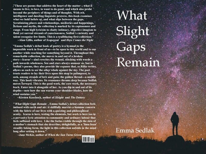 Image of What Slight Gaps Remain by Emma Sedlak
