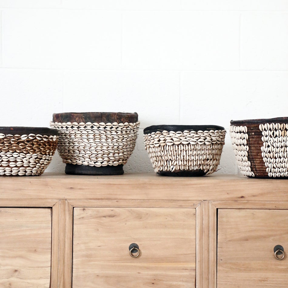 Image of Hauser Vintage Shell Basket