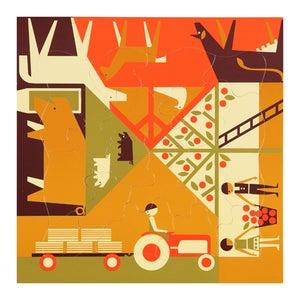 Image of Multi-view puzzle – Farming