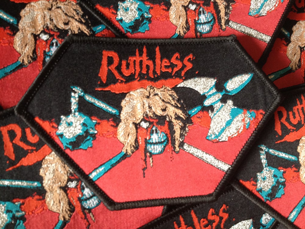"""Image of Ruthless - """"Discipline of Steel"""" Bootleg Patch"""