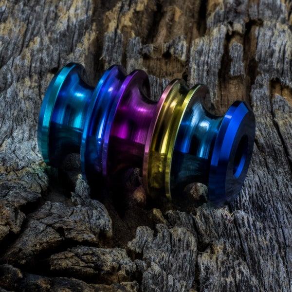 Image of Kraken Rainbow bead #1