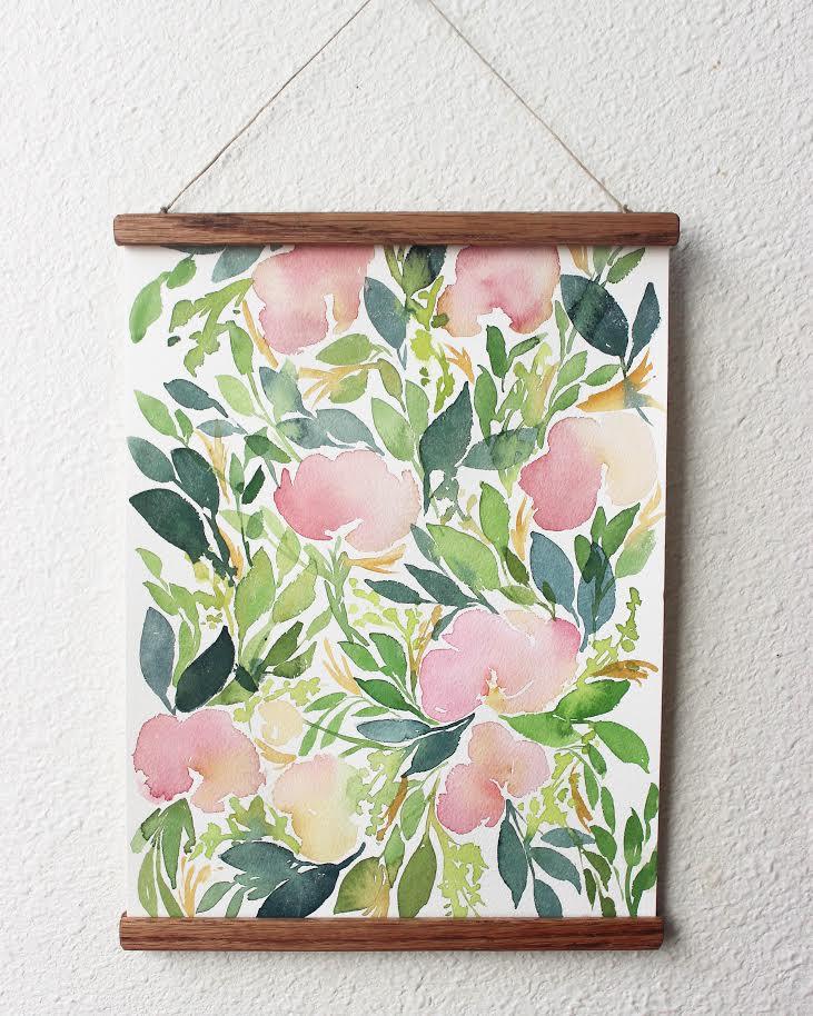 Image of ORIGINAL - floral study #5