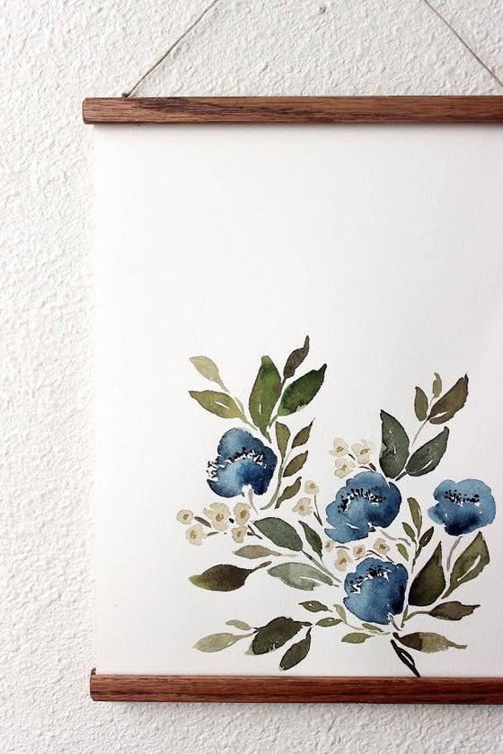 Image of ORIGINAL - floral study #6