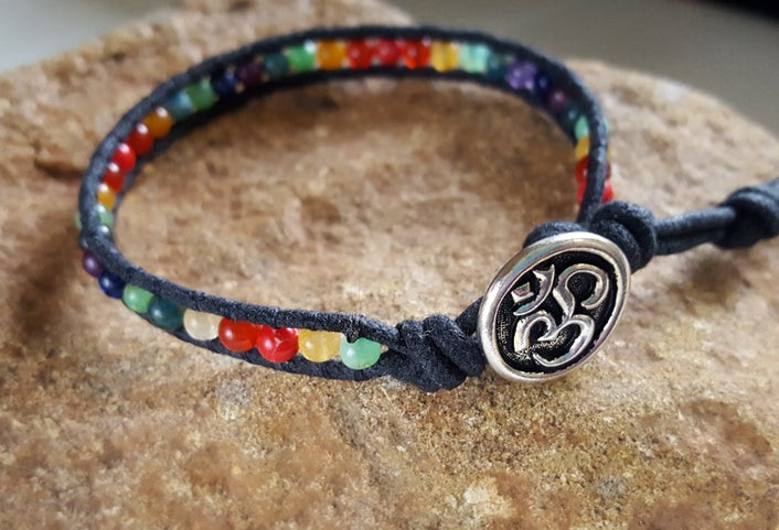 Image of Meditative Single Chakra Wrap Bracelet