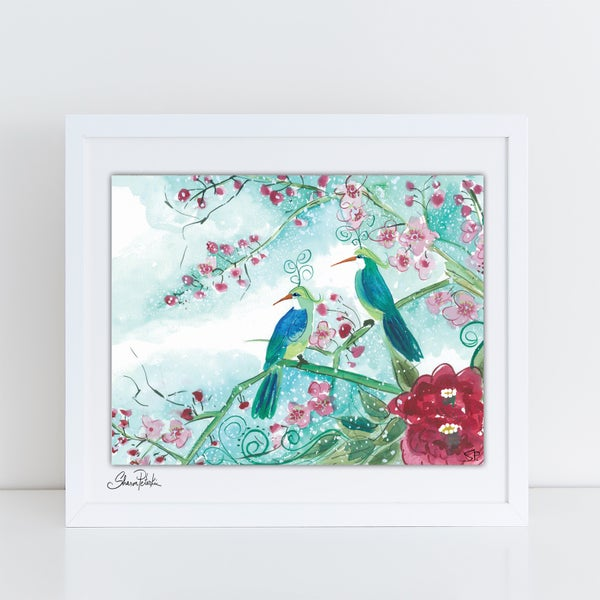 Image of Winter Birds PRINT