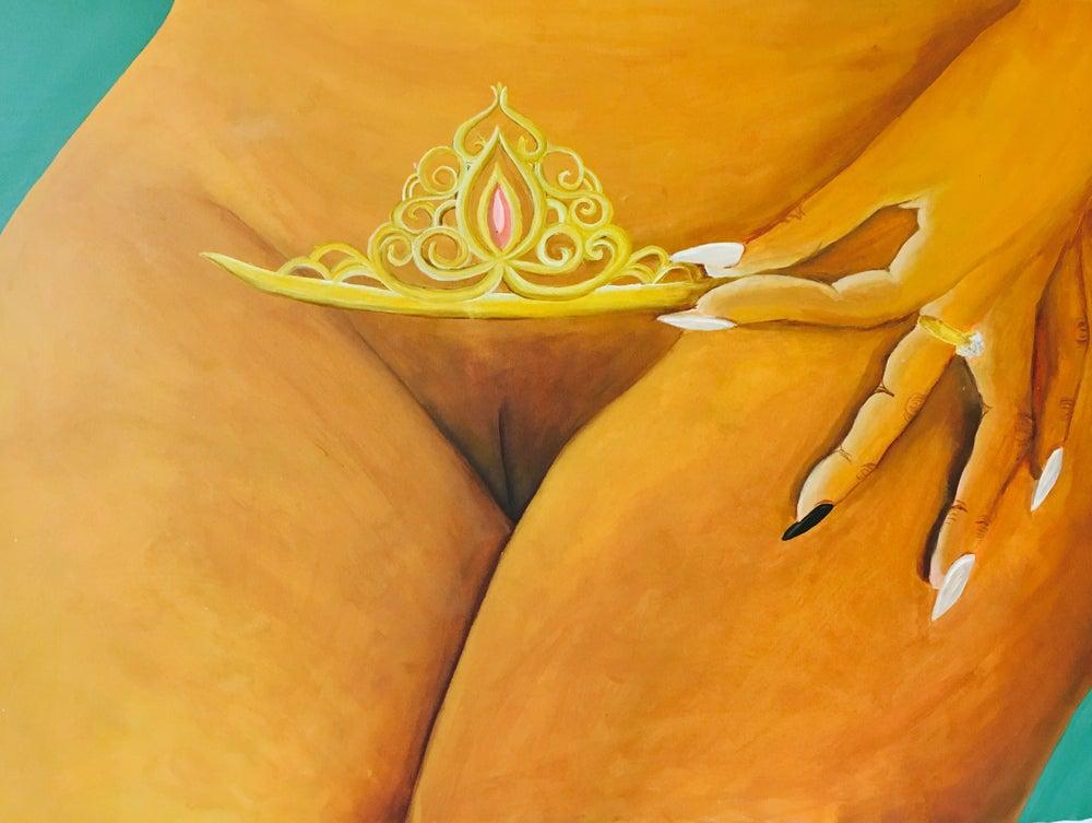 Image of Crown Me Print