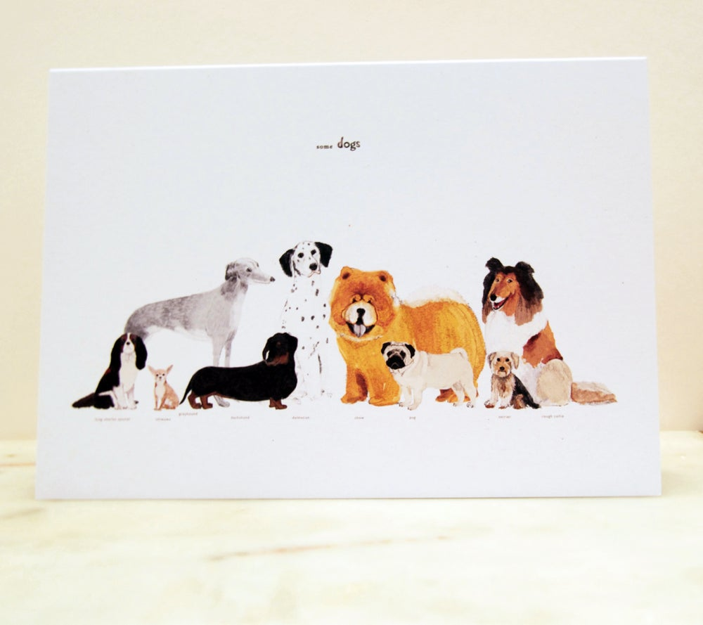 Image of Some Dogs Card