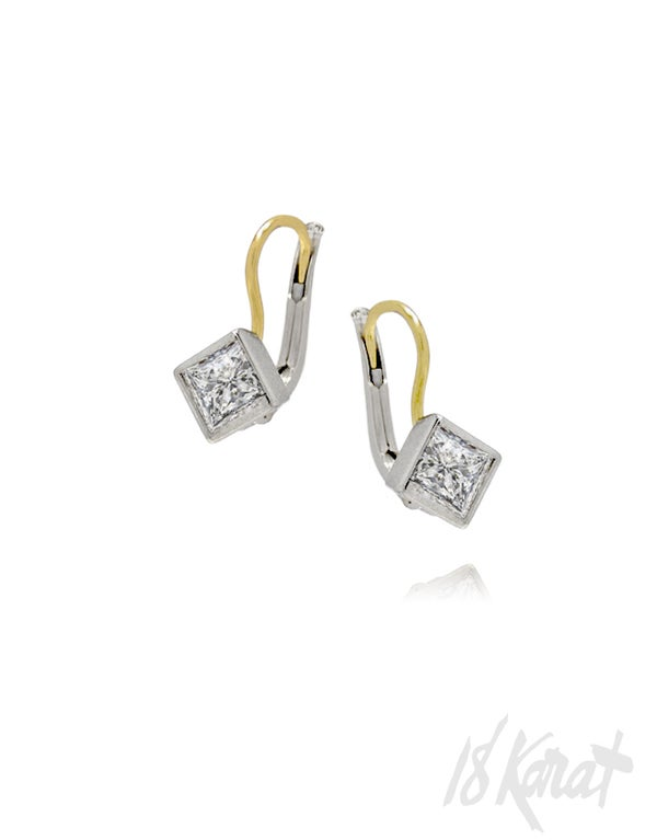 Pam's Diamond Earrings - 18Karat Studio+Gallery