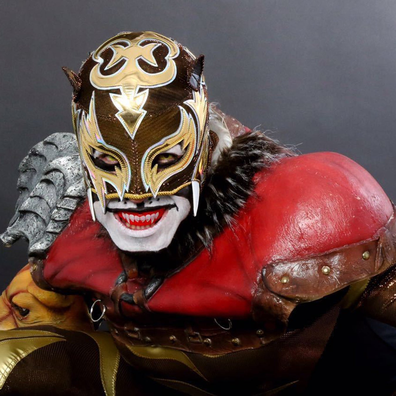 Image of PRE-ORDER: Official Pro-Grade Puma King Mask - Autographed